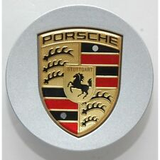 GENUINE PORSCHE 986 987 BOXSTER CAYMAN CENTER CAP LARGE CREST 955361303059A1