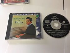 ELVIS HIS HAND IN MINE CD RCA PRESSING