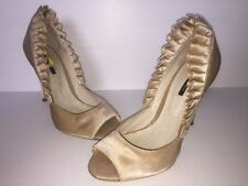 Tony Bianco High (3 in. and Up) Leather Open Toe Heels for Women