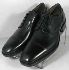 206901 SD45 Men's Shoes Size 9 M Black Leather Lace Up Johnston & Murphy
