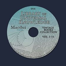 Library of Universal Knowledge (1880-1881) Chambers Ebooks 15 PDF on 1 DVD