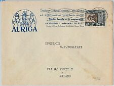 59800 -  ITALY - POSTAL HISTORY:  COVER -  BUTTERFLIES moths