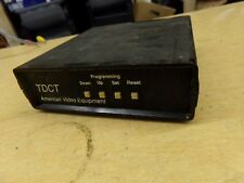 American Video Equipment TDCT *Free Shipping*