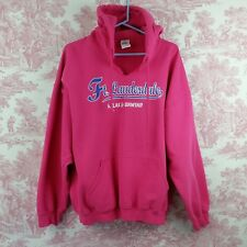 Hoodie Pink Womens XL Relax and Unwind Ft Lauderdale