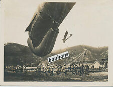 Foto Fliegerei  Deutscher Fesselballon 1.WK (1985)
