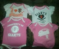 San Francisco Giants Infant, Baby Child Onesie Outfit Set