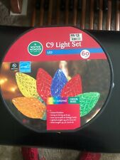 Led C9 Light Set 60 Lights Multi Color (Roll)(320)