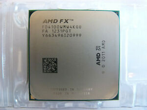 AMD FX 4100 - 3,6 GHz Quad-Core (FD4100WMW4KGU) CPU ; Prozessor