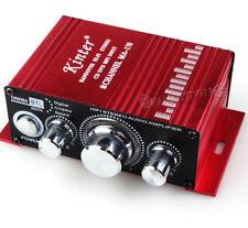 HiFi Stereo Amplifier Car CD MP3 MP4 Amplifier Amp 12V DC Mini Power Amplifier