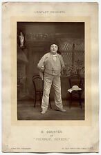 Photo Alfred Ellis - L'enfant Prodigue - Pierrot Senior - Photoglyptie -
