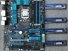 Asus P8Z68 - V PRO Motherboard Intel Core i5- 3,3 GHZ 4 x 4GB Ram Kingston 16 GB