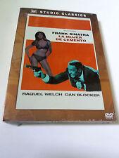 """DVD """"LA MUJER DEL CEMENTO"""" PRECINTADO SEALED FRANK SINATRA RAQUEL WELCH GORDON"""
