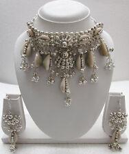 Statement Choker Necklace Collar Fashion Jewelry Boho Hippie Pixie Wiccan Gypsy