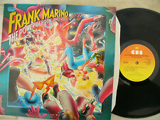 FRANK MARINO LP THE POWER OF ROCK AND ROLL uk cbs 84969 NEAR MINT