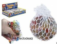Squishy Net Ball Beads Stress Relief Healing Toy Stress Reliever Kids Gift Fun