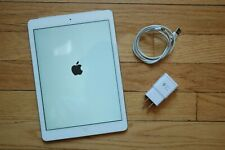 Apple iPad Air 1st Gen. 16GB, Wi-Fi Cellular 9.7in Silver Tested Working READ