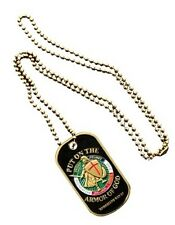 Dog Tag Armor Of God Spiritual Ephesians 6:13-17 USMC USAF NAVY ARMY Military