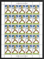 SMT, MAURITANIA word cup Argentina set of 3 X 25, MNH
