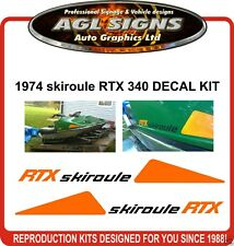 SKIROULE RTX  DECAL KIT REPRODUCTION stickers