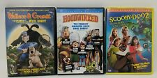 Childrens Dvd Lot of 3 Scooby-Doo 2 Hoodwinked Wallace and Gromit Kids Movies