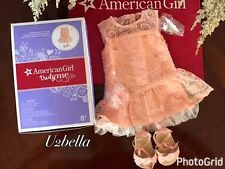 American Girl Shimmer & Lace party Dress TRULY ME New in Box