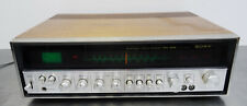 vintage hifi radio - Sony STR-6046 AM FM stereo Receiver wood case 1973-76