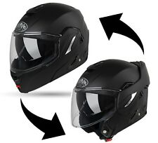CASCO MODULARE FLIP-UP AIROH REV 19 COLOR NERO OPACO BLACK MATT  TG L  59/60