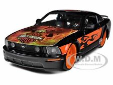 2006 FORD MUSTANG GT BLACK WITH EAGLE HARLEY DAVIDSON 1/24 BY MAISTO 32169