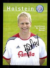 Hinrik Dolzer Autogrammkarte Holstein Kiel 2007-08 Original Sign+A 131814