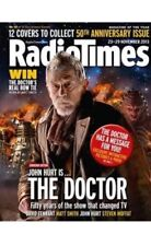Radio Times 50 ANNIVERSARY Doctor WHO John Hurt,Barry Norman,Susanna Reid NEW