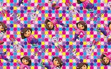 "1 yard Dora ""One Hip Explorer"" Fabric"