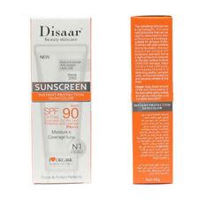 SPF90 PA+++ Beauty Sunscreen Cream Sunblock Snail Refreshing Moisturizing Facial