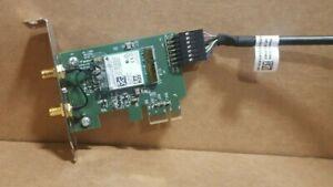 Dell Desktop Wireless Antenna+Network Card Full Kit 0084W9, D8W2M Low Profile