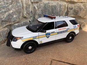 Custom 1/18 Jacksonville Sheriff's Office JSO Explorer Trooper Police Florida K9