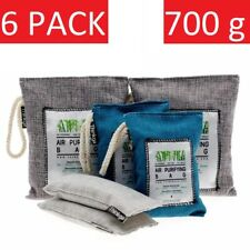 Air Purifying Bags Bamboo Charcoal Natural Freshener Odor Purifier Mold Absorber