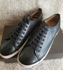 Florsheim Forward Lace Up Low Top Black and White Casual Leather Sneakers 10.5