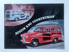 Austin A30 Countryman Brochure 1954 1956