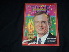 1985 JANUARY 7 TIME MAGAZINE - PETER UEBERROTH, MAN OF THE YEAR - T 2574