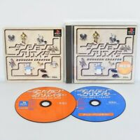 DUNGEON CREATOR Limited Version PS1 Playstation ccc p1