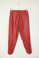 Leather 1990s Vintage Trousers for Women