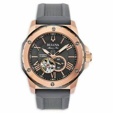Bulova 98A228 Men's Marine Star Stainless Steel Automatic 45mm Watch
