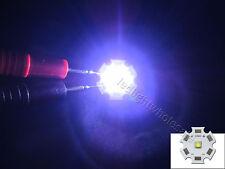 Philips 3W Cool White 7500-8000K Led Chip Light 2.55-3.25V 350MA-1.5A 10pcs