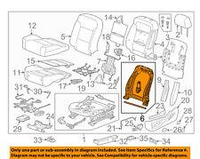 Gm Oem Driver Seat Seat Back Frame 13518925 Fits Cts V
