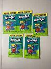 Lot Of 5 Kool-Aid Great Bluedini Super Fruity Packet Vtg 90s .14oz(3.9g) Sealed