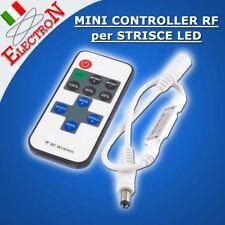 MINI CONTROLLER RF TELECOMANDO+BATTERIA DIMMER STRISCIA LED 12V SMD 3528 5050
