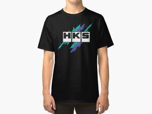 HKS Unisex T-Shirt, JDM T-Shirt, HKS T-Shirt Adult Casual T-Shirt