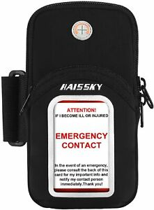 Phone Armband Sports Phone Sleeve Gym Arm Bag Elastic Running Band Phone Holder