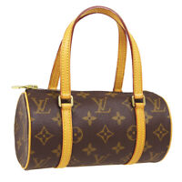 LOUIS VUITTON PAPILLON 19 2WAY MINI HAND BAG DU0023 PURSE MONOGRAM M51389 30561
