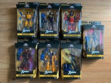 Marvel Legends X-MEN WAVE 3 BAF APOCALYPSE COMPLETE SET NEW Wolverine Psylocke