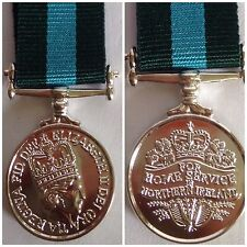 NORTHERN IRELAND HOME SERVICE MINIATURE MEDAL BRAND NEW